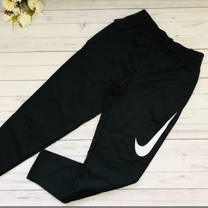 Black Nike Dri-Fit Basketball Fleece Sweatpants